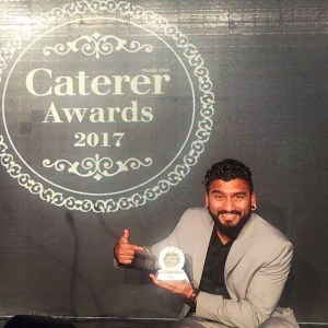 Middle East Bar Manager of the Year 2017. Dubai. UAE.