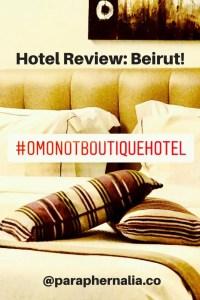 O Monot Hotel. Beirut. Lebanon.