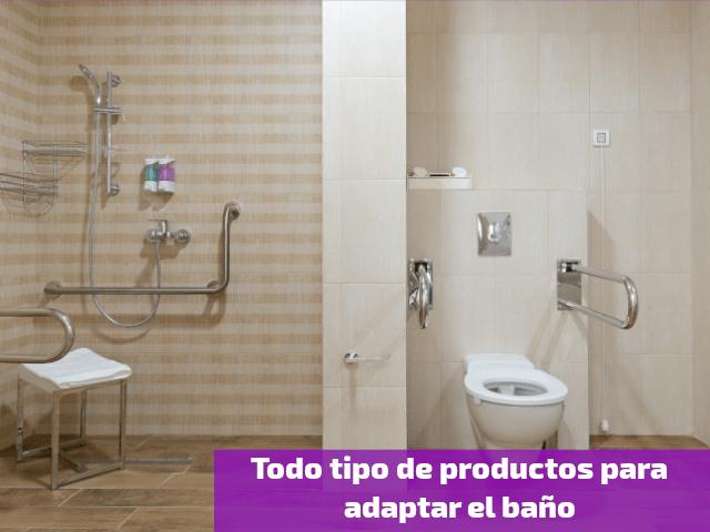 Todo tipo de productos para adaptar el baño