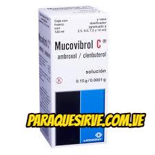 mucovibrol c para que sirve