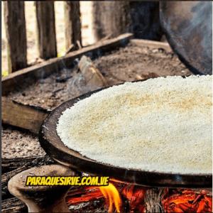 Cómo se hace el casabe Venezolano ¡tutorial! 1