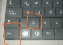 Control Z (Ctrl z) Para que sirve