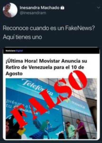 ¿ Movistar se va de venezuela? #falso 3