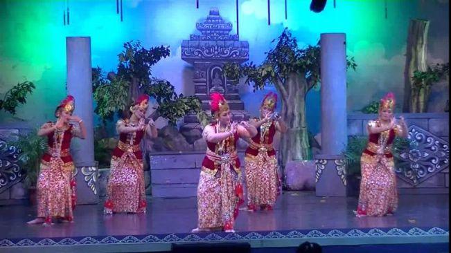 Tari Golek Sulung Dayung Tarian Daerah Yogyakarta