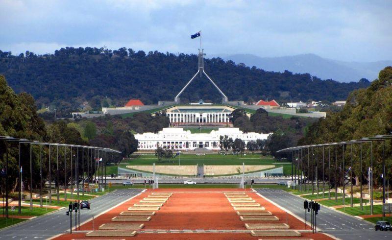 canberra Nama-nama Negara di Benua Australia ibukota