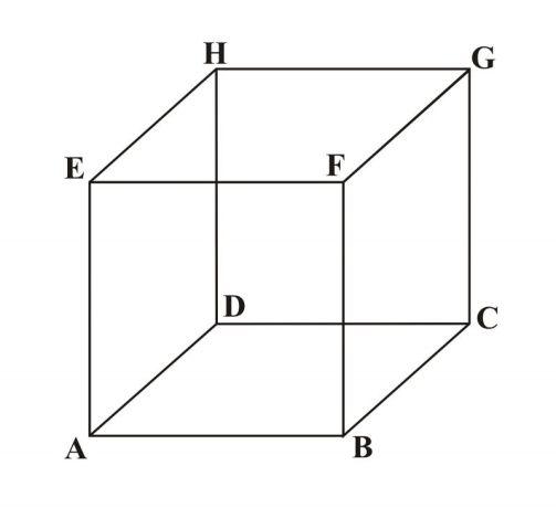 gambar kubus bentuk bangun ruang