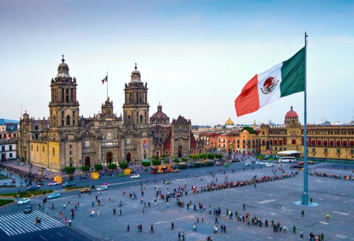 metropolitan-cathedral-zocalo-mexico-city negara paling luas di dunia