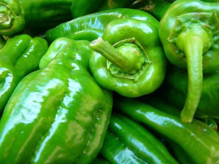 paprika hijau diet Makanan untuk mengecilkan perut buncit