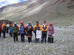 Our group which went for the Mt. Kailah yatra in 2007.