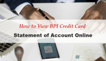 How to Pay BPI Credit Card and other Bills through BPI