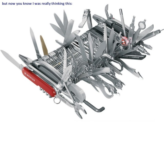 R Language Data scientist swiss army knife tool