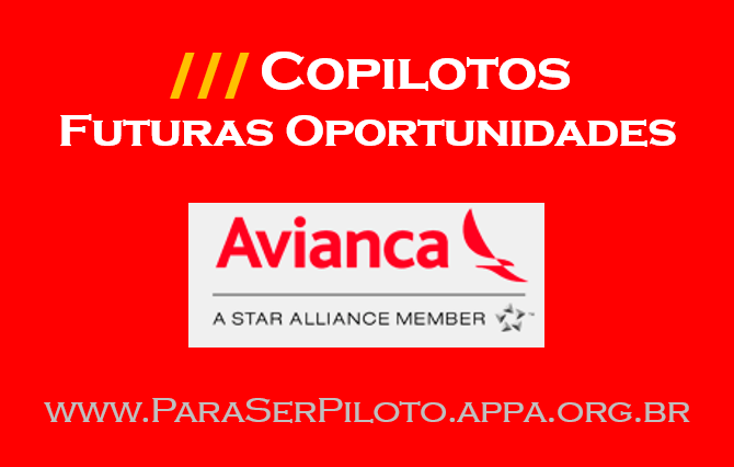 Futuras Oportunidades para Copilotos Avianca