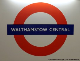 Walthamstow Central.