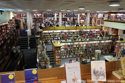 Blackwell´s-kirjakaupan Norrington Room on kirjanystävän toivepaikka.