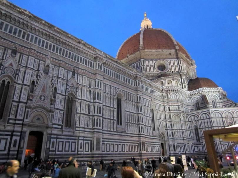 Firenzen tuomiokirkko Santa Maria del Fiore.