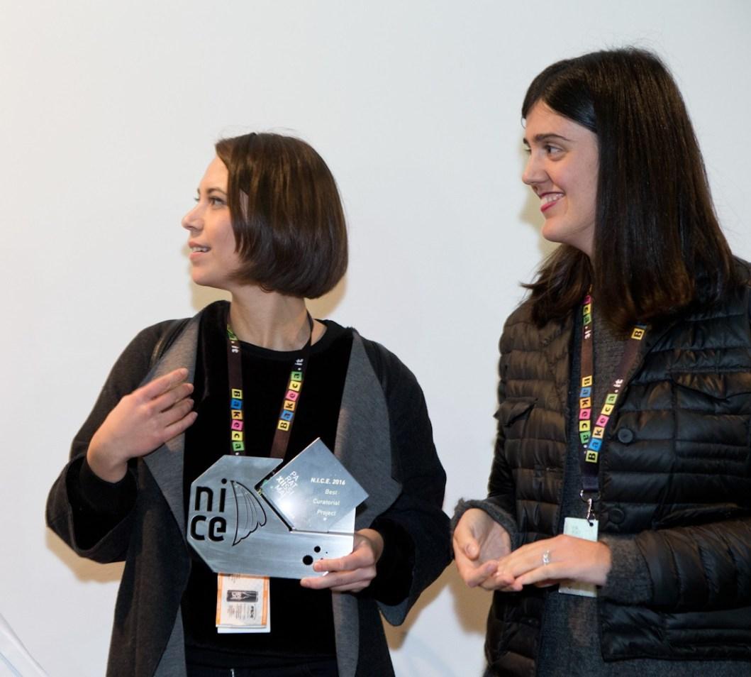 Le curatrici Corradina Rosetti e Ylenia Rose Testore