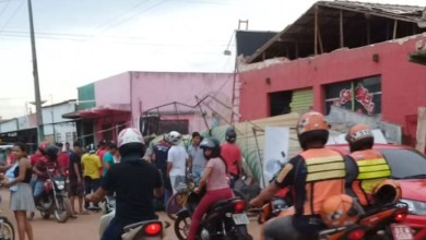 Photo of Fachada de supermercado desaba e deixa feridos em Marabá