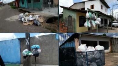Photo of Moradores de Marituba denunciam que estão há semanas sem coleta regular de lixo
