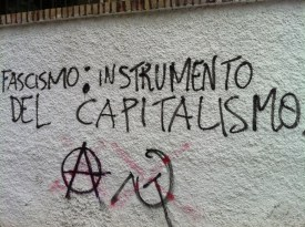 Fascism: instrument of capitalism.