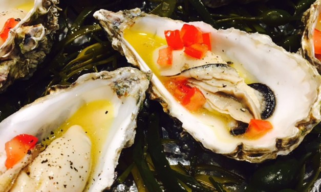 Oysters Part 4: vermouth poached oysters