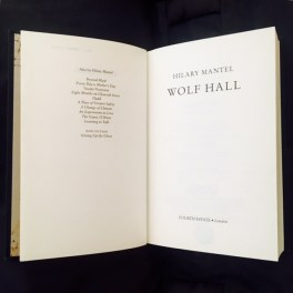 Hilary Mantel Part 1: Wolf Hall