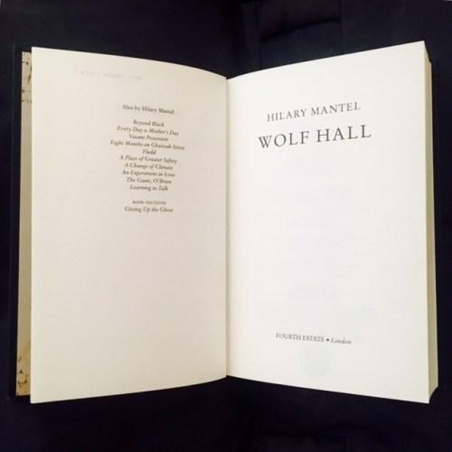 Hilary Mantel Part 1: Wolf Hall