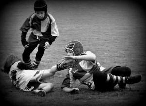 Bienvenue en 2017 - Match à Montjean-sur-Loire école de rugby