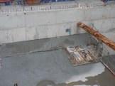 Emplacement de l'ascenseur d'accès aux sous-sols pour les bâtiments A & B