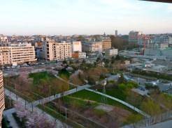 Vue vers le Sud-Est parisien