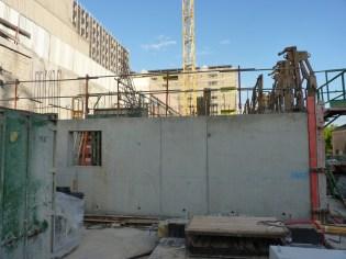 Le chantier d'Ouest en Est... vue bientôt bouchée :-)
