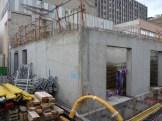 Mur Ouest de Parc 17 : Duplex du RdC et local technique