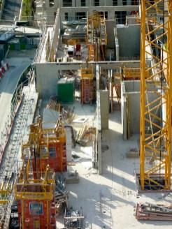 Elévation des murs du 2° étage, côté Bâtiment A