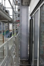 Paroi de séparation des balcons et terrasses