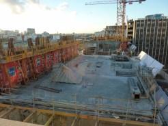 Parc 17, bâtiment C, dalle du 8° étage, 7 novembre 2014