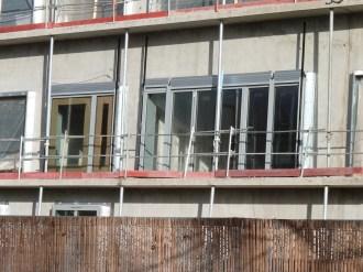 Fenêtres de l'appartement témoin