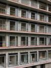 Pose des portes-fenêtres, bâtiment A
