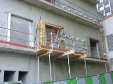 Ouvertures Est, 1er étage, bâtiment C