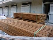 Lattes de parquet pour terrasses et balcons