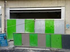 Porte d'accès aux parkings