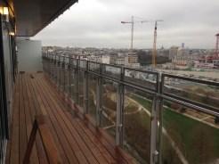 Balcon, vue vers l'Est