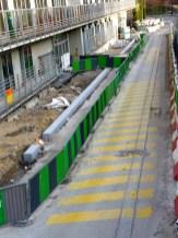 Reconstruction de la rue Bernard Buffet