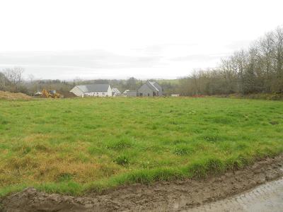 Irvillac terrain grande verdure de 459 m² au calme pas cher 35 000€