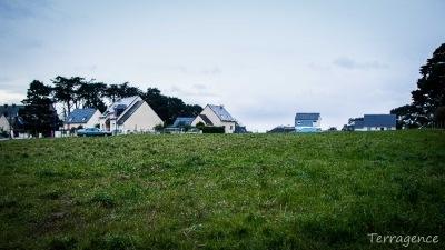 Plougasnou centre Finistère terrain à terrain 1120 m²