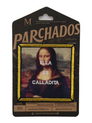 parche_memecentistas_ella_es_calladita_empaque_parchados