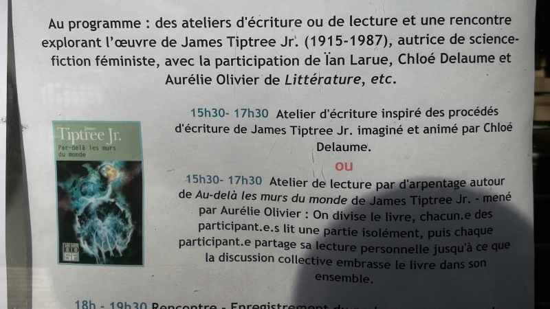 Atelier Les Parleuses à la bibliothèque Maria Rainer Rilke