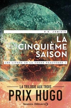 Les livres de la Terre Fracturée (trilogie), de N.K. Jemisin