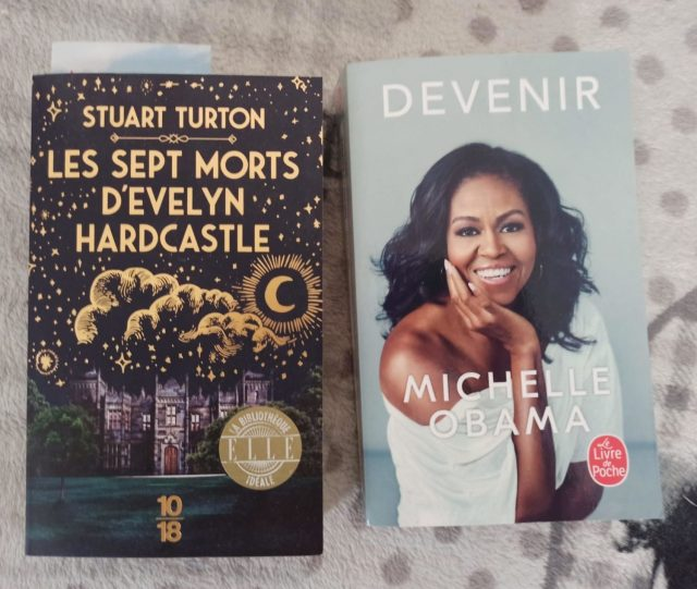 Les septs morts d'Evelyn Hardcastle, Stuart Turton et Devenir, Michelle Obama