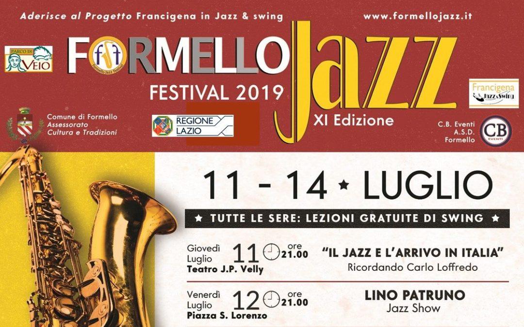 11-14 luglio: Formello Jazz Festival