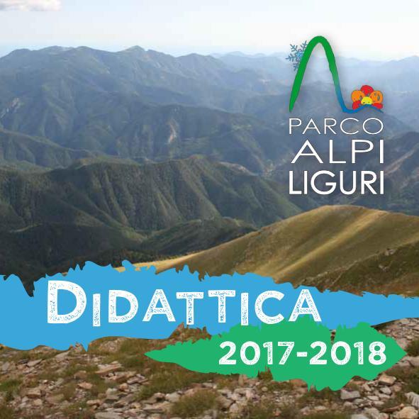Nuovo catalogo didattica Alpi Liguri 2017/2018