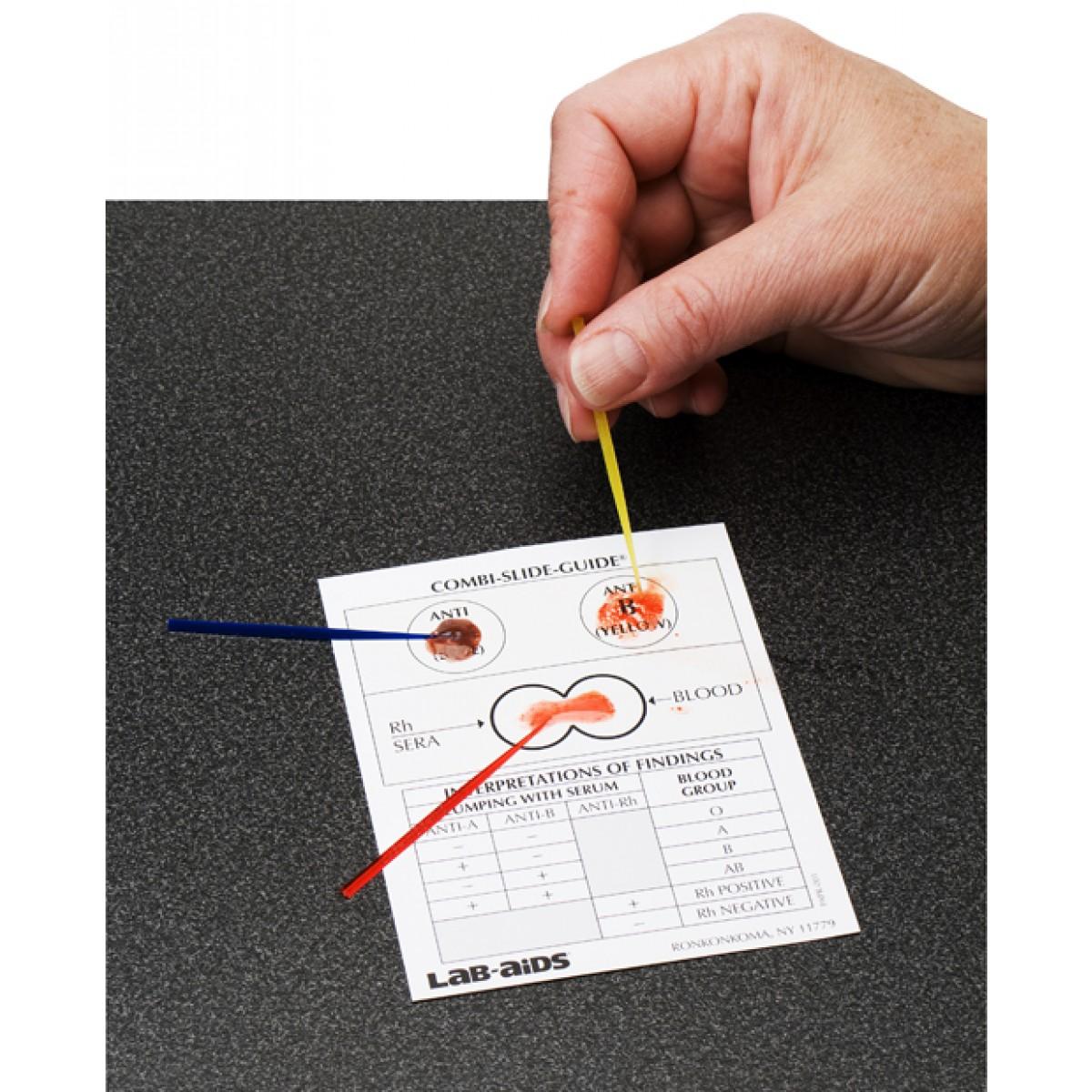 Abo Rh Combination Blood Typing Kit